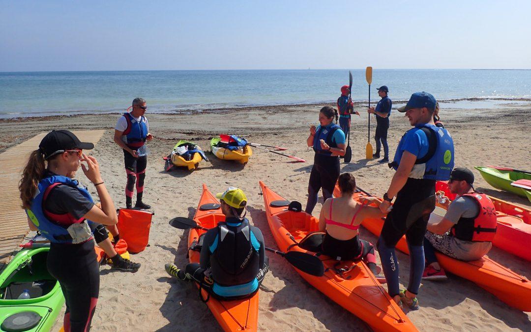 Este verano iníciate en el Kayak de Mar