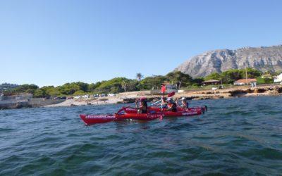 Remant pel Parc: una ruta en kayak de mar diferente